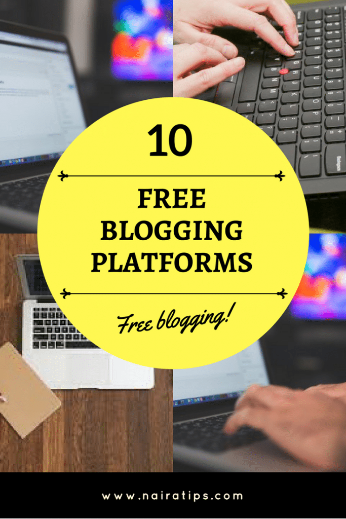 10 free blogging platforms