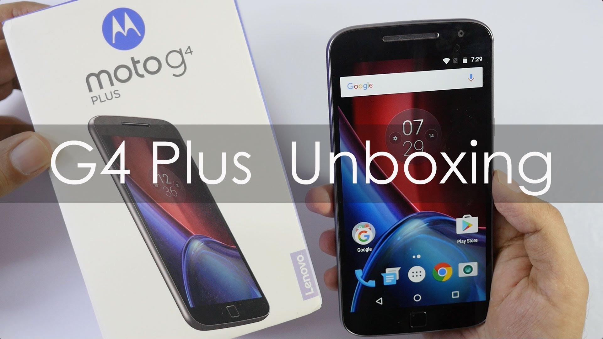 Motorola Moto G4 Plus Specs