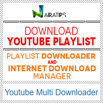 download youtube playlist with idm