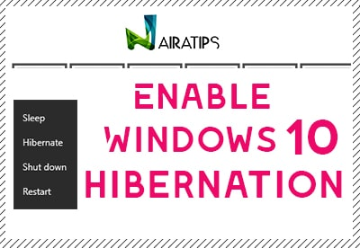 Windows 10 hibernate