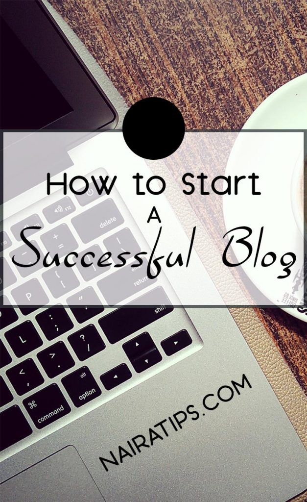 start a successful blog pinterest