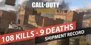 COD WWII 108-9 kills