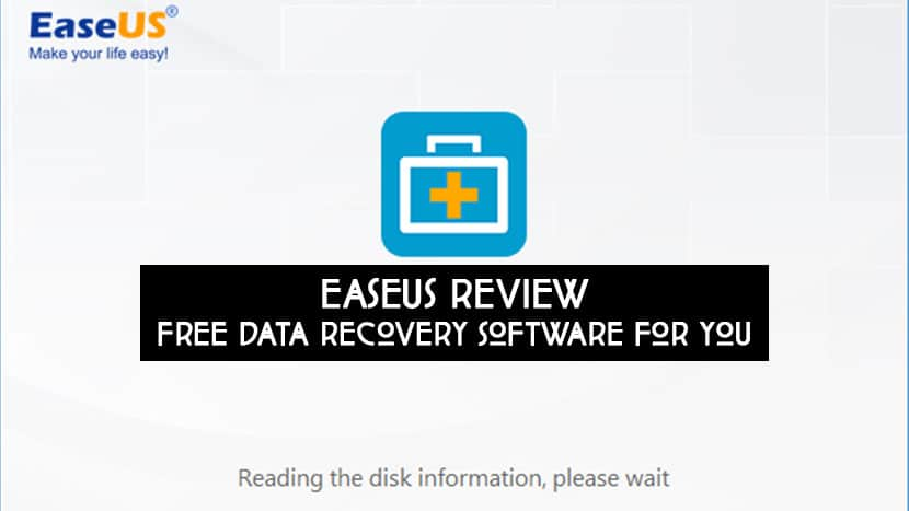 easeus disk data recovery software