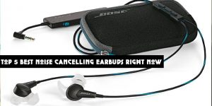 Top 5 Best Noise Cancelling Earbuds Right Now