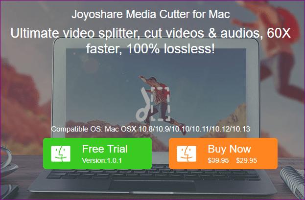 joyoshare media cutter for mac