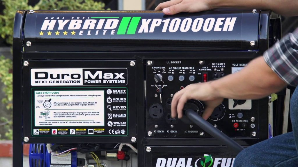 duromax xp10000eh hybrid backup generator