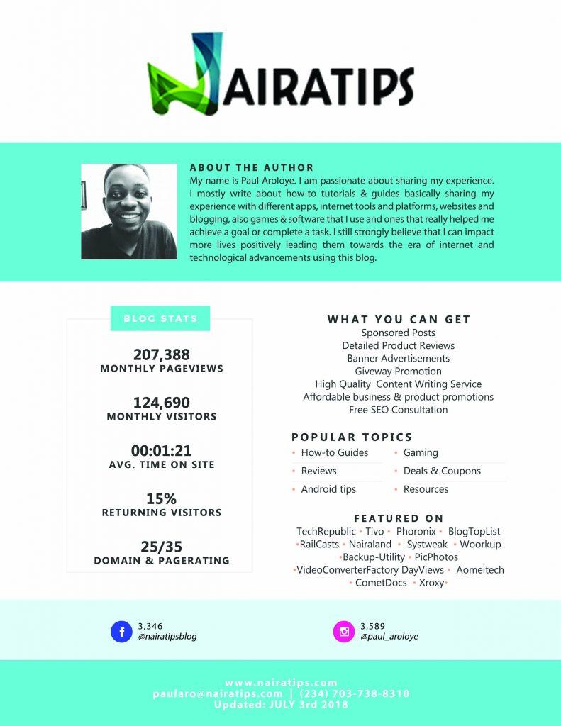 Nairatips Media Kit 1 AUGUST