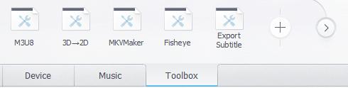videoproc remove fisheye