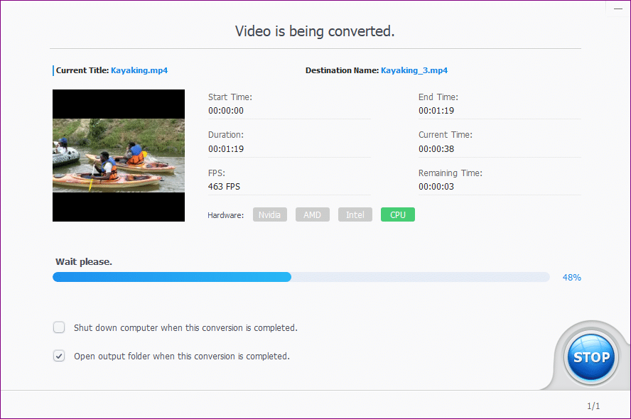 videoproc video converting