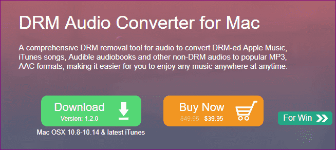 DRM audio converter mac