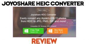 Joyoshare HEIC Converter Windows