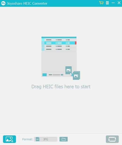 Joyoshare HEIC Converter for Windows