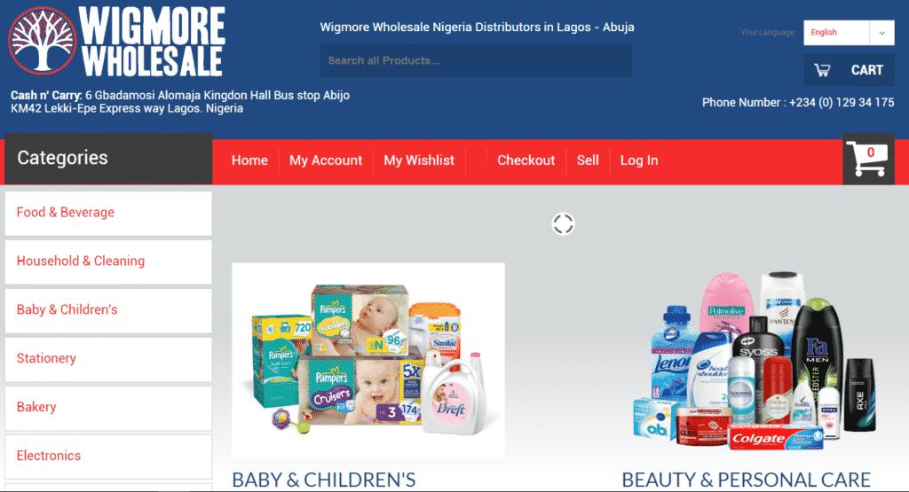 wigmore wholesale