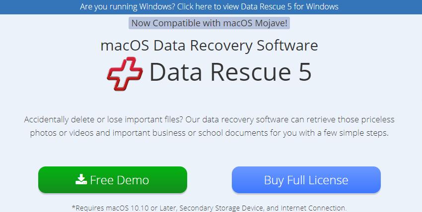data rescue 5 for mac