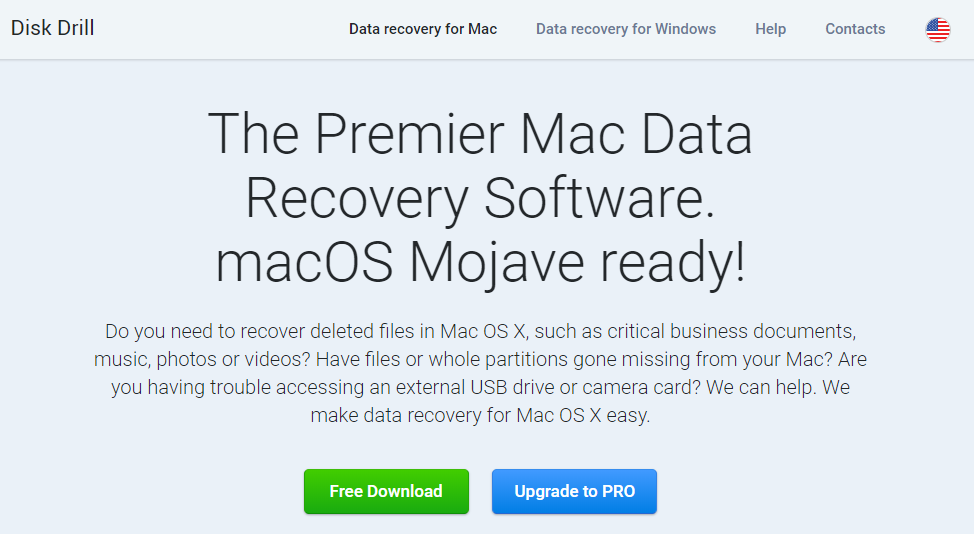 disk drill mac data recovery