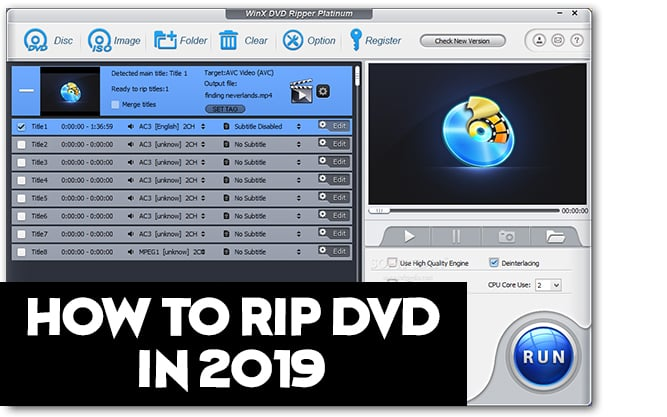 how to rip dvd 2019