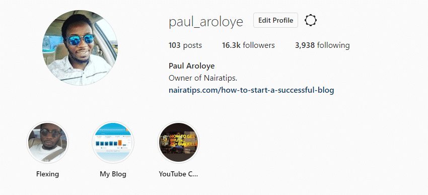 nairatips instagram account