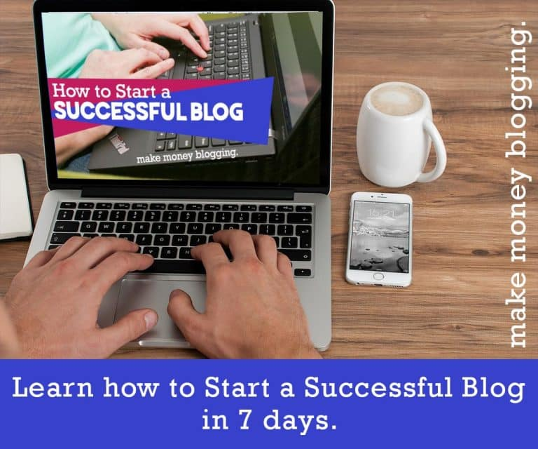 7 days free successful blog course
