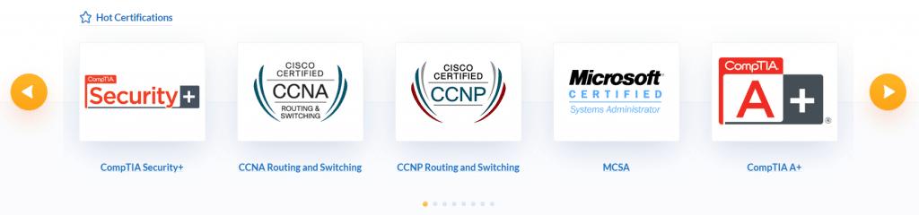 prepaway certifications