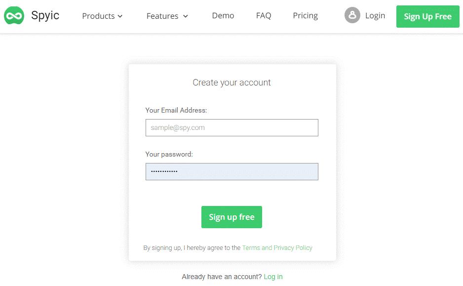 create a free sypic account