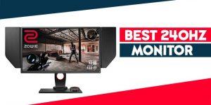 best 240hz monitor