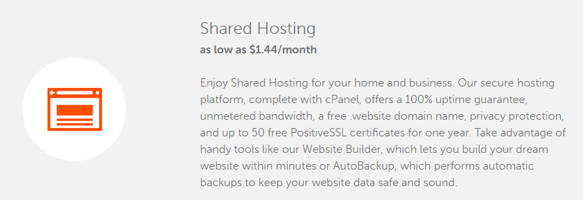 namecheap $1.44 shared hosting