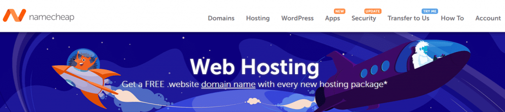namecheap cheap best webhosting for bloggers