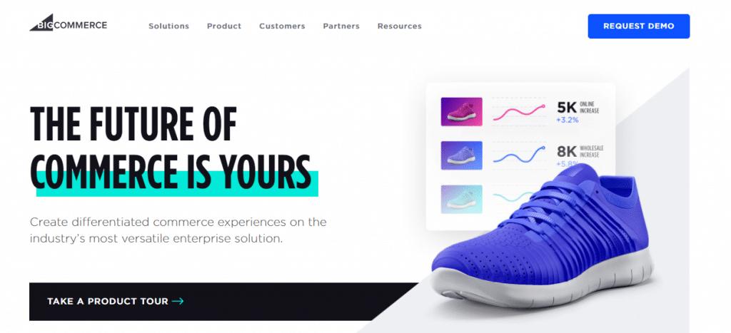 BigCommerce best eCommerce for startups