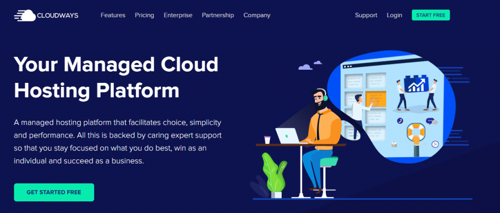 cloudways web hosting woocommerce