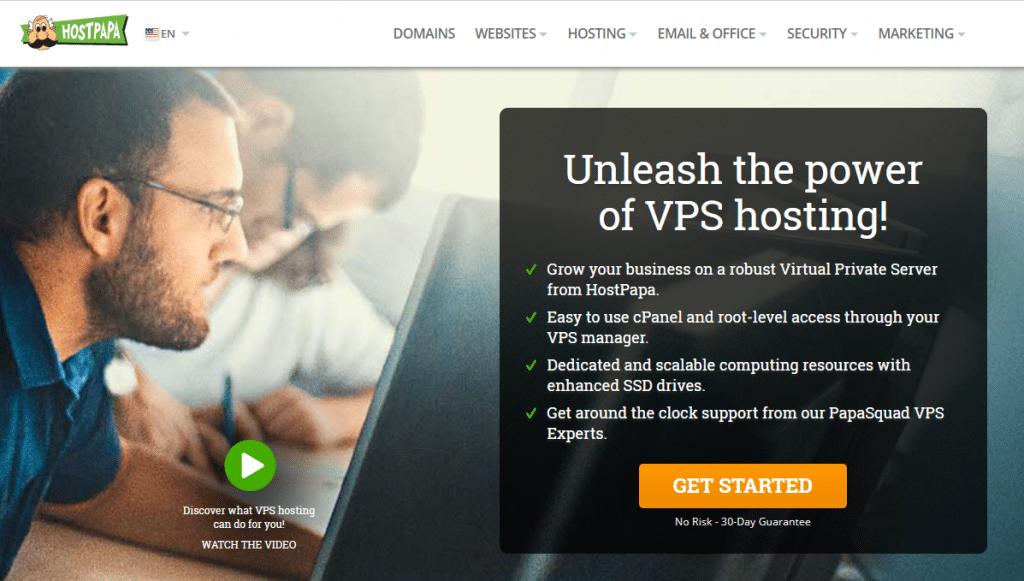 hostpape vps hosting
