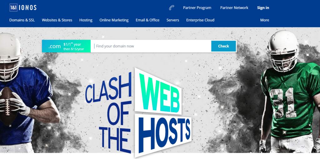 ionos web hosting plans