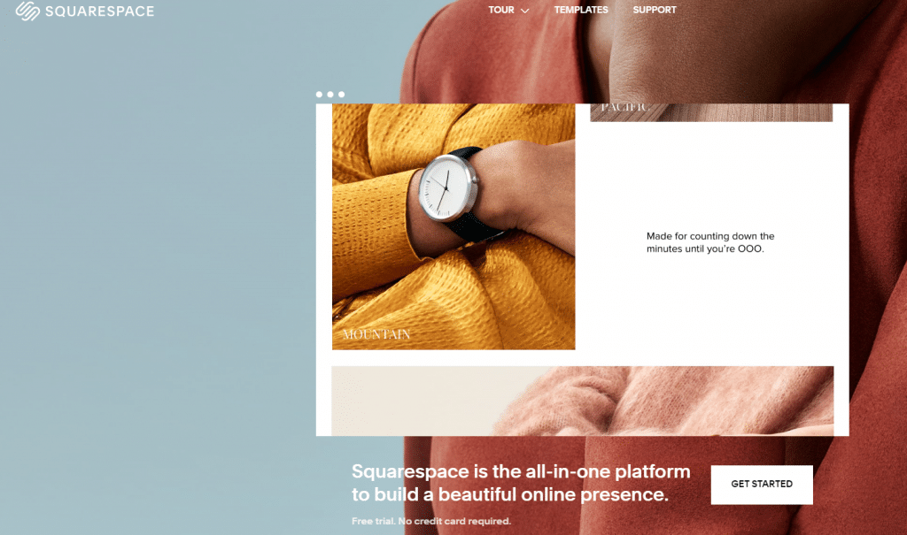 squarespace best eCommerce for startups