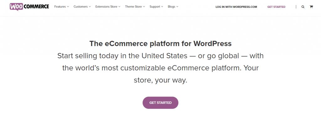 woocommerce best eCommerce for startups