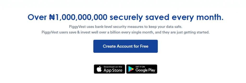 get piggy vest saving app