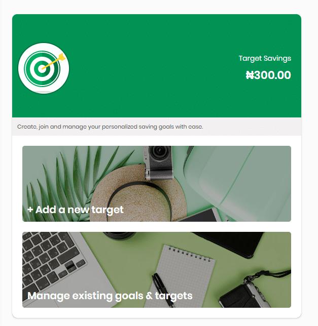 target savings