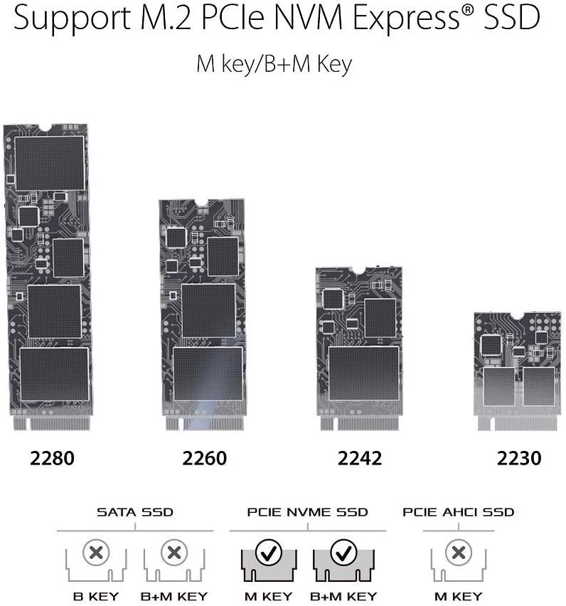 Asos ROG SSD enclosure compatibility