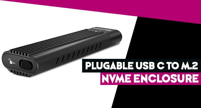 Plugable USB-C NVMe Enclosure