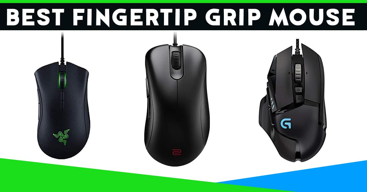 best fingertip grip mouse